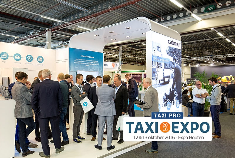 myPOS™ at the Taxi Expo 2016 in Houten