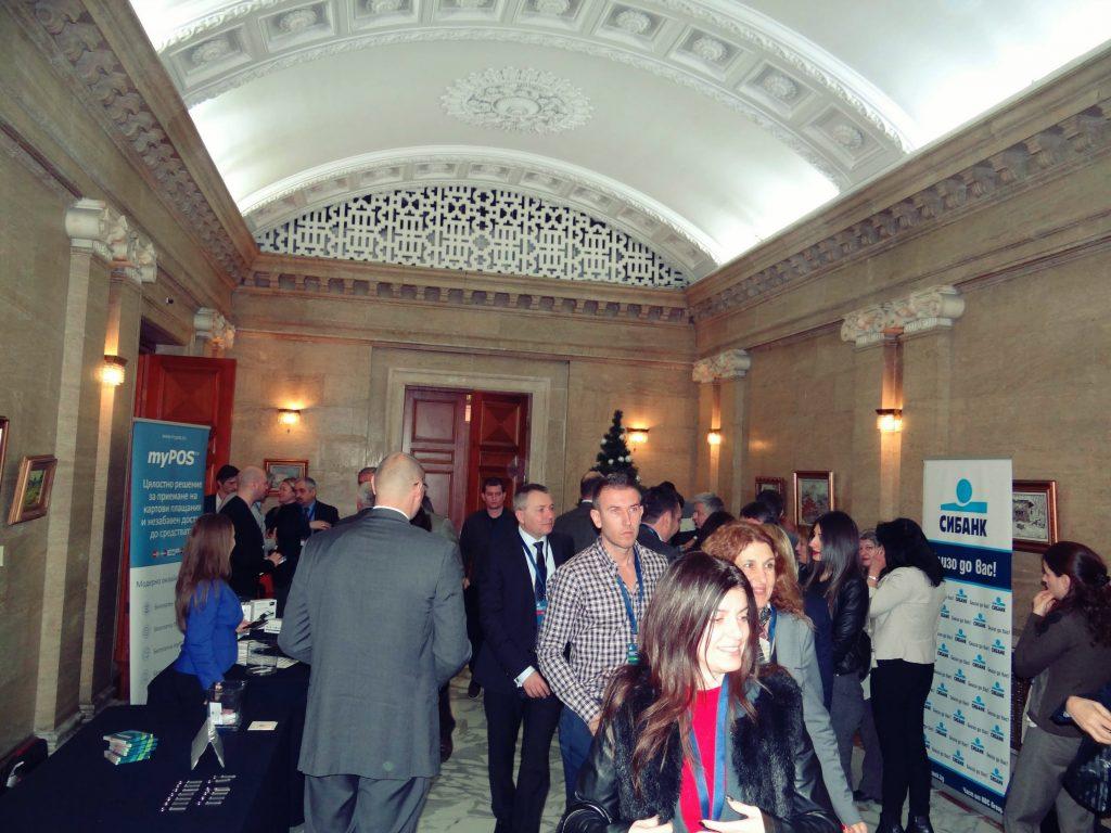 myPOS™ Team at Bulgaria Economic Forum 2016
