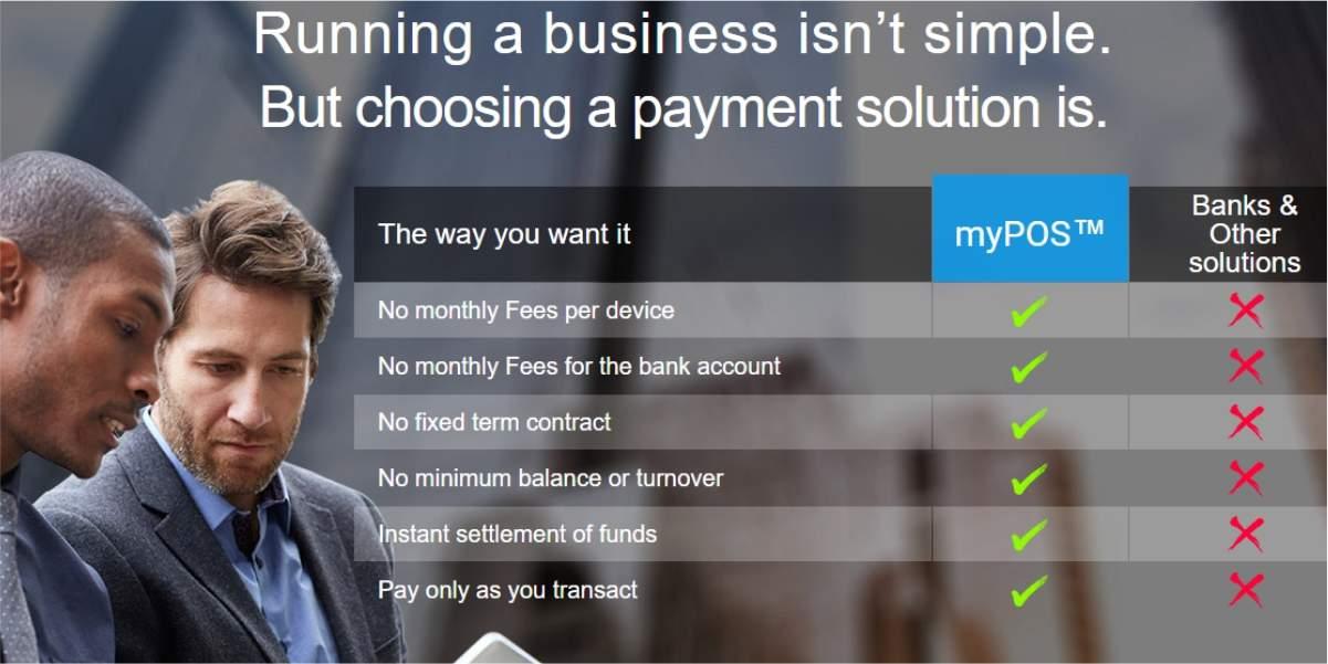 myPOS™ - Benefits for Merchants