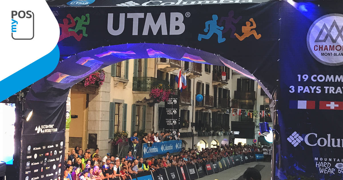 myPOS blazes a new trail at the 2017 UTMB-3