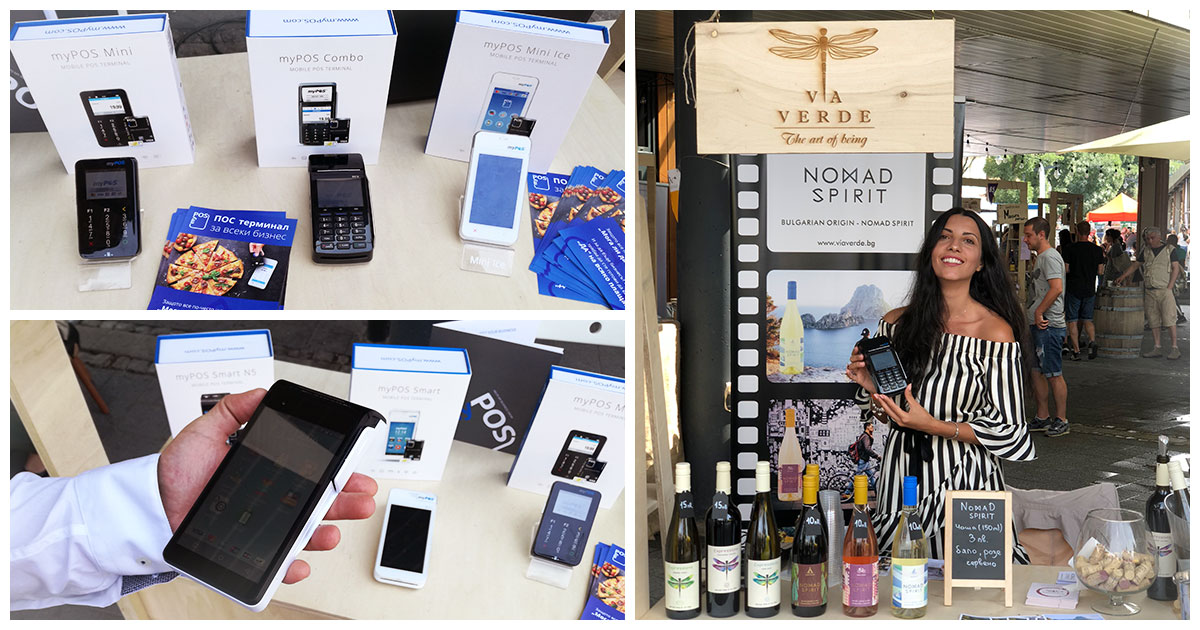 How myPOS payment solutions helped SMEs at Bacchus StrEAT Fest 2018