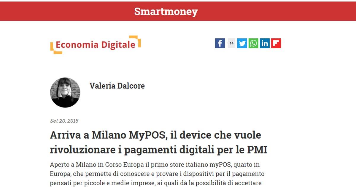 Arriva a Milano MyPOS, il device che vuole rivoluzionare i pagamenti digitali per le PMI