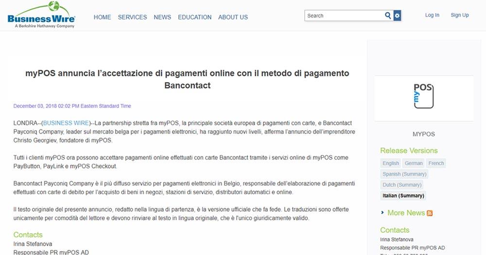 myPOS-annuncia-l'accettazione-di-pagamenti-online-con-il-metodo-di-pagamento-Bancontact