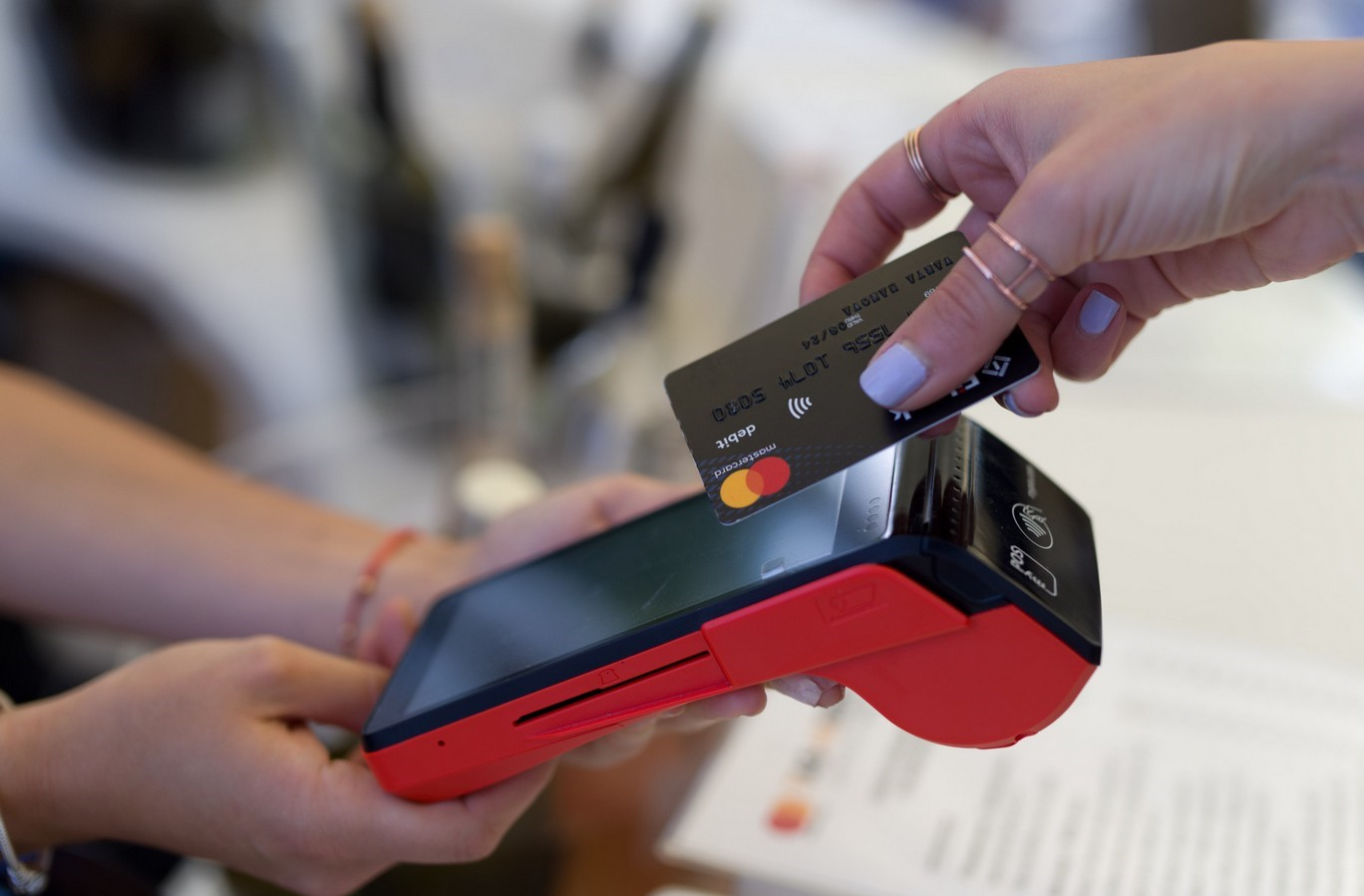 Take payments with a POS device