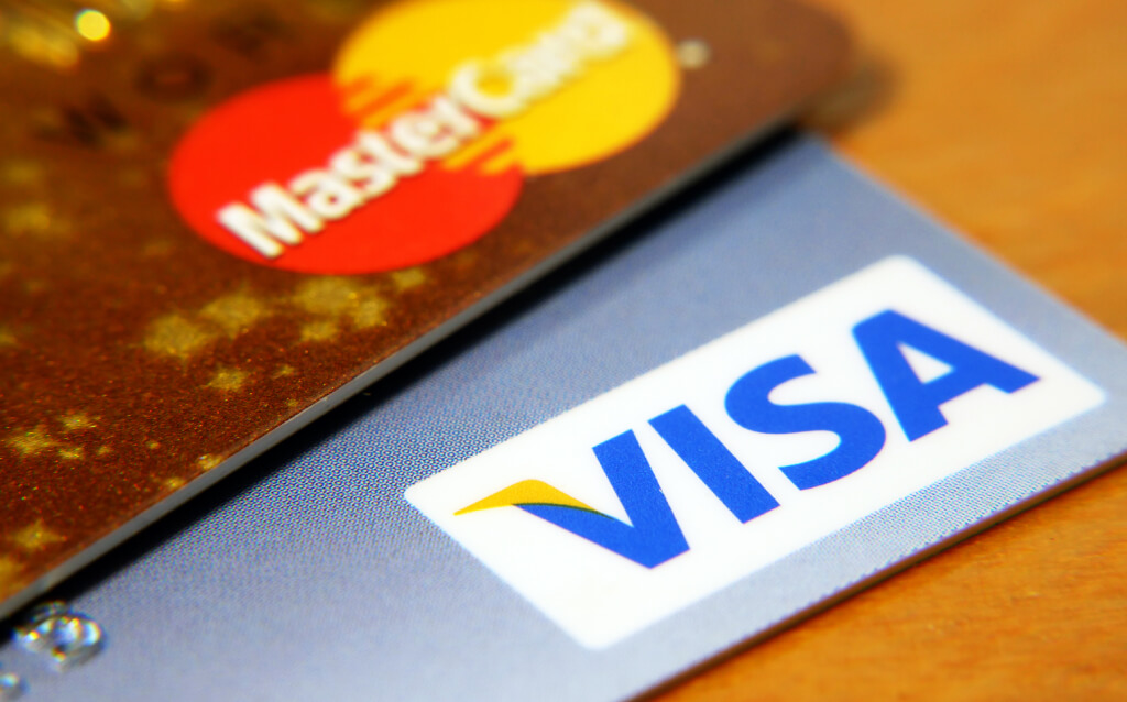 Debit card and credit card photo